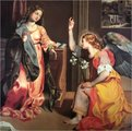 The Annunciation FREDERICO BAROCCI 1526-1612