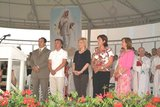Medjugorje Visionaries during celebration of anniversary