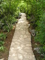 Pathway leading out of Oasis of Peace Community