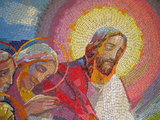 Mysteries of Light #5 - The institution of the Eucharist (detail)